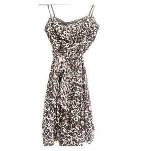 BCBG MaxAzria Strapless  Silk Dress Size 8
